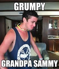 grumpy grandpa sammy - GrumpySammy - quickmeme via Relatably.com