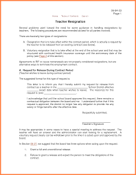 letter of resignation teacher marital settlements information 7 letter of resignation teacher
