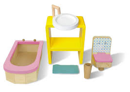 just kidz just dreamz bathroom dollhouse furniture set toys games dolls accessories dollhouses playsets dreamz bathroom dollhouse