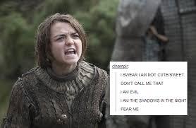 game of thrones got Arya Stark Cersei Lannister Joffrey Baratheon ... via Relatably.com