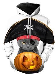 <b>Men's</b> Halloween <b>Cute Pet Print</b> 3D Hoodie Sale, Price & Reviews ...