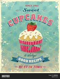 illustration of vintage cupcakes sign stock vector stock photos illustration of vintage cupcakes sign
