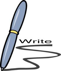 Image result for clip art blogger writer