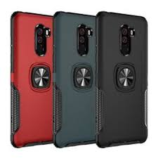 Shockproof Armor Case For Xiaomi POCOPHONE F1 Metal ... - Vova