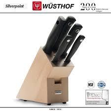 <b>Набор ножей</b> Silverpoint 9829-1: 5 предметов на подставке ...