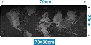 [luckyhchild] Extra Large Mouse Pad <b>World Map</b> Gaming Mousepad ...