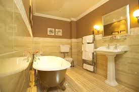 ideas bathroom tile color cream neutral:  small bathroom ideas yellow tile with bathroom brown