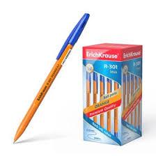 <b>Ручка шариковая Erich Krause</b> R-301 Orange Stick, узел 0.7 мм ...