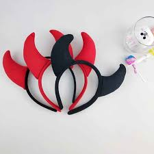 <b>Funny Devil Ears</b> Headband Horns Ear Children Headbands ...