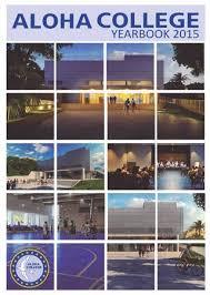 Aloha College Yearbook/Anuario 2015 by Aloha College - issuu
