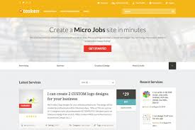 wordpress themes and premium wordpress themes collection taskerr best job boards wordpress theme connecting who need work and done