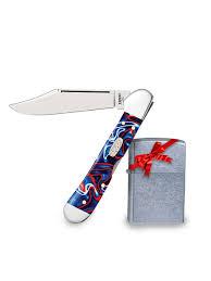 <b>Нож перочинный Patriotic</b> Kirinite Smooth Mini Copperlock ...