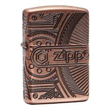 <b>Зажигалка ZIPPO</b> Armor™ с покрытием <b>Antique</b> Copper™, медная ...