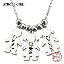 Wholesale <b>StrollGirl</b> New 925 Sterling Silver Chain <b>Custom</b> ...