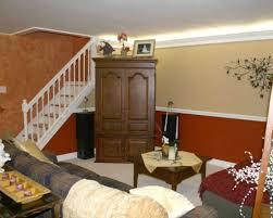 dining room khaki tone: two tone living room painting ideas credit two tone room painting