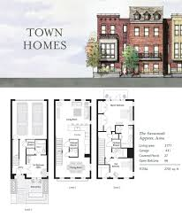 Charleston Row House Plans   Free Online Image House Plans    Townhouse Floor Plans on charleston row house plans