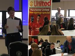 blog werneth school secondary high school romiley stockport a group of our year 10 students ed manchester united this week as part of a business enterprise opportunity students participated in four workshops