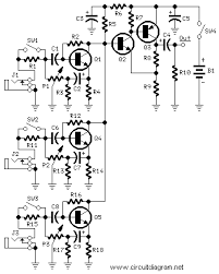 2 watt mini audio amplifier schematic design on simple amplifier schematics