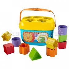 сортер mattel fisher price первые кубики малыша ffc84