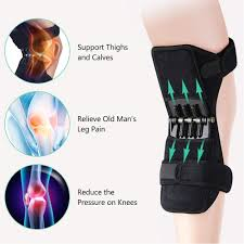 <b>1pc Knee</b> Protection Booster Power Lifts <b>Joint Support</b> Pads ...