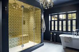 bathroom shower tile design color combinations: collect this idea green colored shower blue walls