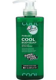 [<b>Kumano</b> oils and fats] ファーマアクト super cool <b>body soap</b> 600mL