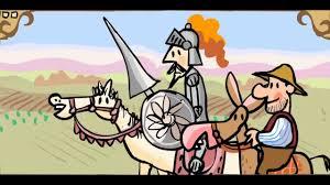 Resultado de imagen de el quijote para niños