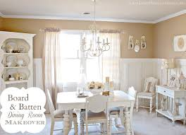 Room And Board Dining Room Chairs Board And Batten Wainscoting Board Amp Batten Dining Room Makeover