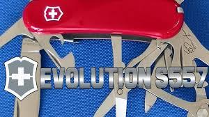 <b>Нож Victorinox Evolution</b> S557 глоток свежего воздуха для ...