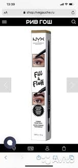<b>NYX Карандаш</b>-<b>филлер</b> для бровей Fill & Fluff купить в Москве ...