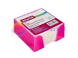 Купить <b>Стикеры Attache Fantasy 90x90x50mm</b> Pink-White 354655 ...