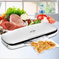 White Dolphin Best Food <b>Vacuum Sealer</b> Machine <b>220V 110V</b> With ...