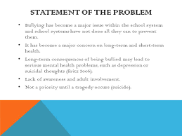 Bullying  Effects and Intervention Mary Zoulis Midterm Project and     Medscape