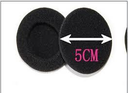 5 пар 50 мм мягкая пена <b>вкладыши</b> pad замена губка <b>чехлы</b> для ...
