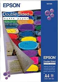 <b>Epson Double-Sided Matte</b> Paper C13S041569 Photo paper A4 178 ...