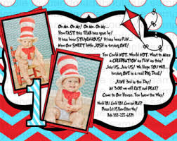 dr seuss 1st birthday – Etsy via Relatably.com