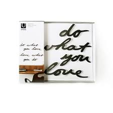 iron wall decor u love: larger    larger