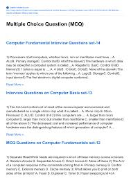 collection of cs multiple choice questions mcqs authorstream