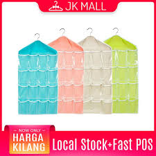 [Malaysia Seller] [Local Stock] <b>16</b> Pockets <b>Hanging</b> Organizer Travel ...