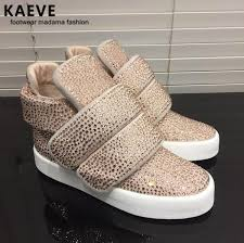 Crystal Sneakers For <b>Men</b> 2019 <b>Kaeve</b> Designer Flat <b>Shoes</b> Casual ...