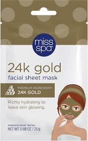 Miss Spa <b>24K Gold Facial Sheet</b> Mask | Ulta Beauty