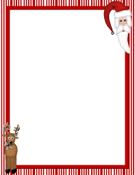 Christmas writing paper template free Themed Writing Paper   Have Fun Teaching