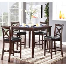 Five Piece Dining Room Sets Milo Collection 5 Piece Dining Room Set