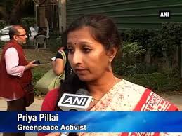 Image result for priya pillai greenpeace