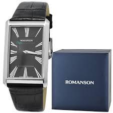 Купить мужские наручные <b>часы Romanson TL0390MW</b>(<b>BK</b> ...