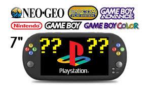 "<b>X16</b> Handheld Video Game Console with giant <b>7</b>"" screen: <b>PSP</b> look ..."