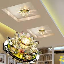<b>LAIMAIK Crystal LED Ceiling</b> Light 3W AC90 260V Modern LED ...