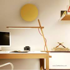 desk top accent lighting with swing arm and floor lamps too add task lighting