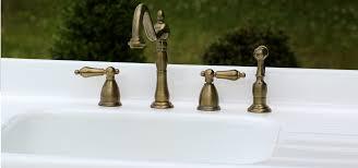 <b>Antique Brass Faucet</b>