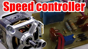 Easy circuit! How to make AC Motor Speed <b>Controller</b> (Part 1 ...
